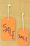 Sale signs Stock Image