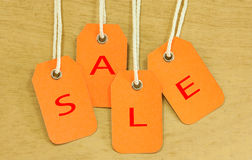 Sale signs Royalty Free Stock Photos