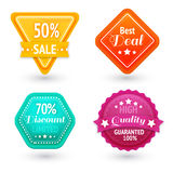 Sale signs and symbols set Royalty Free Stock Photo