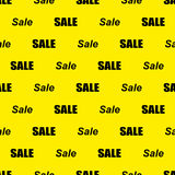 Sale simple background Stock Photography