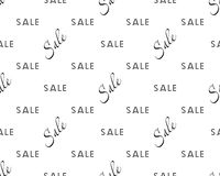Sale simple background. Sale Wallpaper Closeout banner Selloff seamless pattern Vector illustration Vector Illustration
