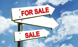 For Sale sing. Sale sing Vector Illustration