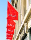 Sale flags Royalty Free Stock Image