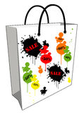 Sale sopping bag Royalty Free Stock Images