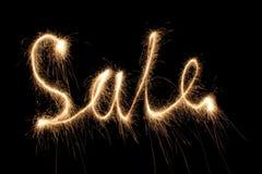 Sale sparkler Stock Image