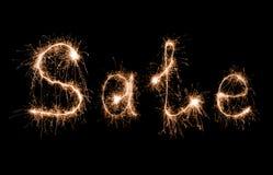 Sale sparkler Stock Photography