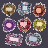 Sale special natures vector labels and stickers. From your messages Stock Image