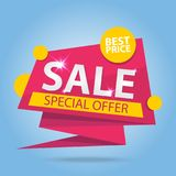 Sale Special offer Label Royalty Free Stock Photography