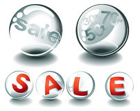 Sale Spheres Stock Images