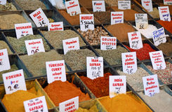 Sale of spices Stock Photo