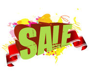 Sale splash Stock Photos