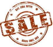 Sale stamp Stock Photography
