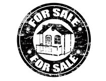 For sale  stamp Royalty Free Stock Photo