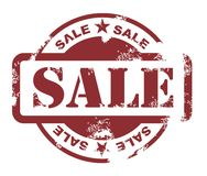 Sale stamp Stock Image