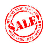 Sale stamp. This illustration can be used for your design Stock Photography