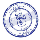 Sale stamp Royalty Free Stock Image
