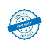 For sale stamp illustration. For sale blue stamp seal illustration design Royalty Free Stock Photos