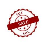 Sale stamp illustration. Sale red stamp seal illustration design Stock Images