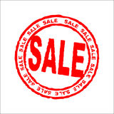 Sale stamp like sticker Royalty Free Stock Photography