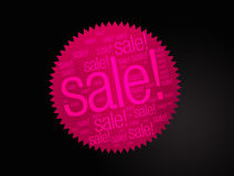 Sale sticker Royalty Free Stock Photos