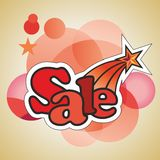 Sale sticker Royalty Free Stock Photography