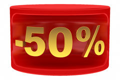 Sale sticker. Isolated on white background Royalty Free Stock Images