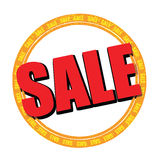 Sale sticker. A 'sale' sticker, clipart, at a very high resolution, also available as vector Stock Photos