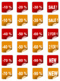 sale sticker Stock Images
