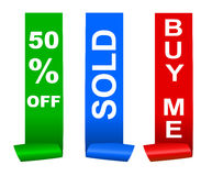 Sale sticker Stock Photos