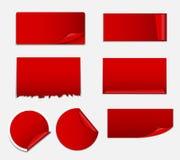 Sale Sticker, Banner Template Set Vector Stock Image