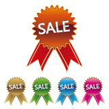 sale sticker icon Stock Image