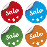 Sale sticker Stock Image