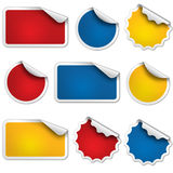 Sale Sticker Vector set of forms Royalty Free Stock Photo