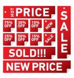Sale_stickers_1 Royalty-vrije Stock Afbeelding