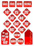 Sale stickers Stock Photo