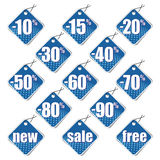 Sale stickers Stock Photography