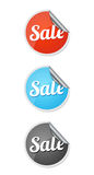 Sale stickers Stock Images