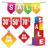 Sale stickers #4 vector illustration
