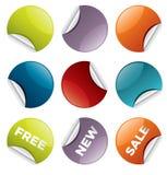 Sale_stickers_4 Stock Fotografie