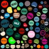 Sale stickers Stock Photos