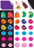 Sale Stickers_eps Stock Photography