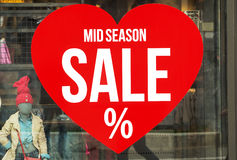 Sale store sign Royalty Free Stock Photo