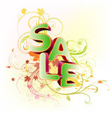 Sale styled design Stock Photos
