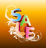 Sale styled design Stock Photos