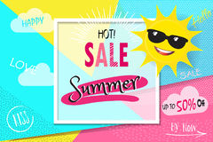 Sale Summer Royalty Free Stock Photo