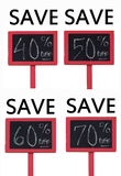 On Sale Savings Stock Images