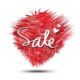 Sale symbol, cirkelpolygonvektor, klistermärke, etikett, knappar, etiketter, befordranbaner, marknadsföring stock illustrationer