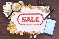 Sale symbol Royalty Free Stock Photo