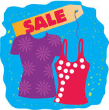 Sale T-shirts Royalty Free Stock Photos