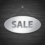 Sale tablet Royalty Free Stock Image